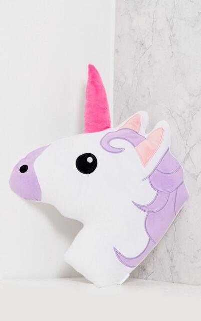 Extra Soft Unicorn Unihorn Cushion Emoji Pillow Birthday Gifts For Her Girls UK