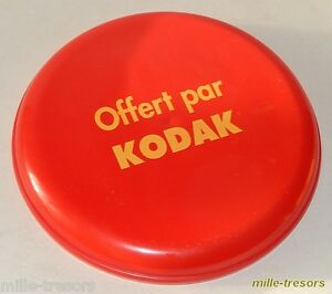 Ancien-FRISBEE-KODAK-Marquage-034-Offert-par-KODAK-034-Vintage