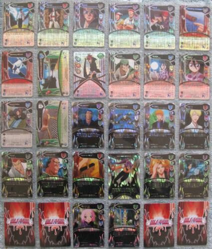 Bleach TCG Seireitei /& Soul Society Common /& Uncommon Foil Cards