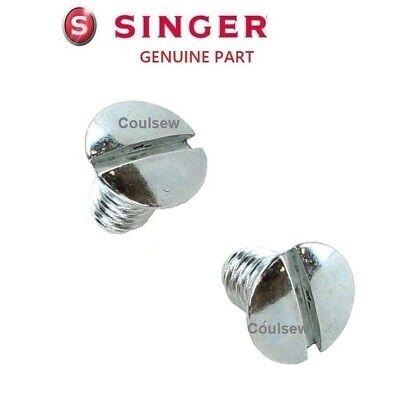 SINGER GENUINE NEEDLE PLATE METAL Some Confidence One 160 Curvy 8770 etc