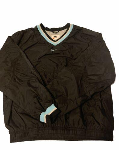 vintage nike white tag pullover V-neck windbreaker