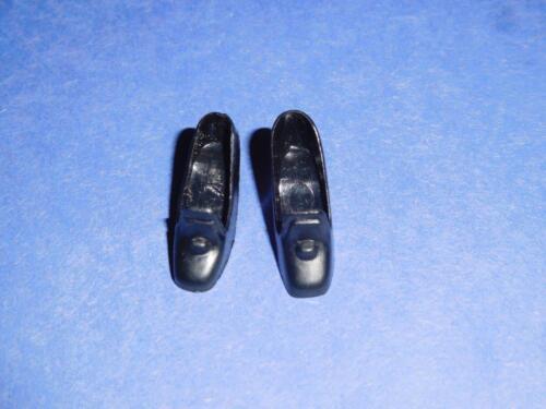 Vintage Barbie Black Pilgrims Shoes