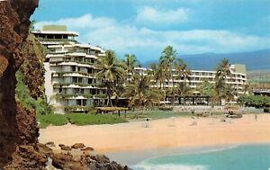 Details About Maui Hawaii 1960s Postcard Sheraton Maui Kaanapali Beach