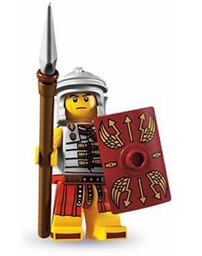 LEGO 8827 - Mini Fig Collection Series 6   Roman Soldier - Factory Sealed