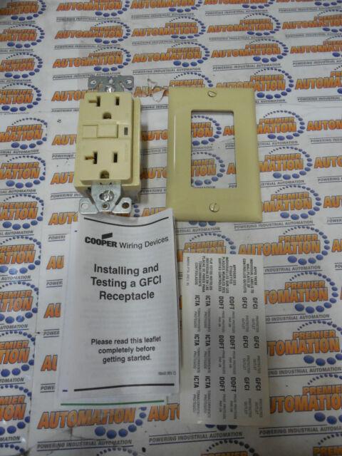 COOPER WIRING VGF20V - GFCI DECORATOR DUPLEX 20A 125V ...