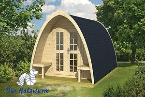 28 mm Gartenhaus Pod 400 Holz 240x400 cm Holzhaus Ferienhaus