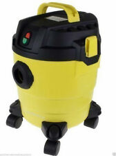 NEW VACUUM CLEANER WET&DRY YELLOW AND BLACK 10 LITRE 1000W FLOOR TOOLS INCLUDED