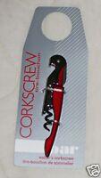 The Bar Waiter's Corkscrew Foil Knife Cork Wine Bottle Opener