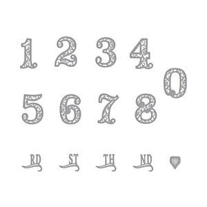 Lace-Zahlen-Nummer-Metall-Stanzformen-Schablone-Scrapbooking-Praege-Papier-Karte