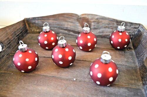 Platzkartenhalter Weihnachtsdeko 6 Stück Set rot Foto-Halter Deko Weihnachten