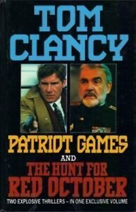 Details about BOOK-Patriot Games and The Hunt for Red October,Tom Clancy
