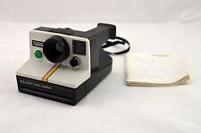 RARE Vintage Polaroid 1000 Land Camera W/ Neck Strap And Instruction Manual