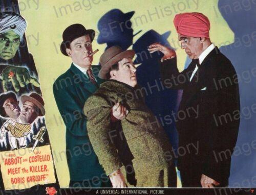 8x10 Print Boris Karloff Abbott /& Costello Meet the Killer 1941 #BK040