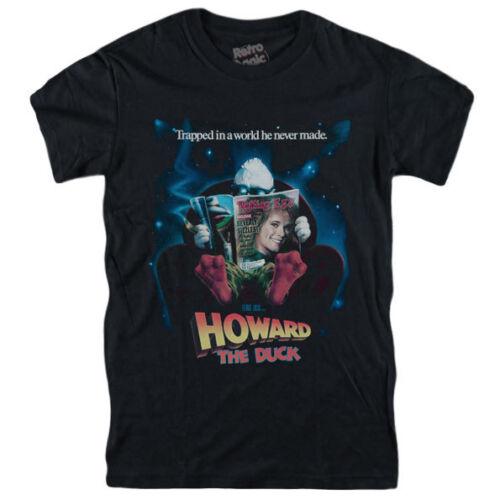 HOWARD THE DUCK T-shirt Lea Thompson Tim Robbins Marvel Lucasfilm