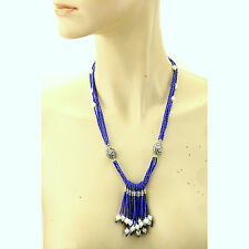 Genuine Afghan LAPIS stone NECKLACE 816w1