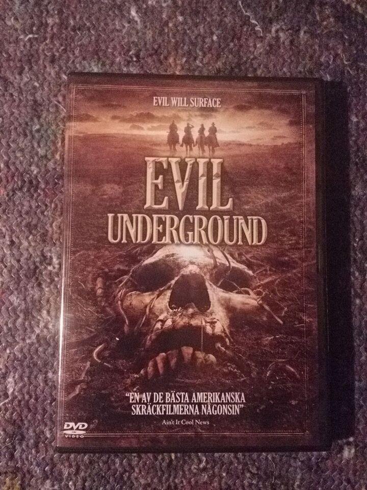 EVIL UNDERGROUND, DVD, andet