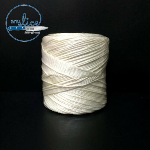Butcher's Twine 400m White Roll Food Grade Polyester