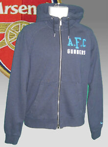 Details about New NIKE NSW ARSENAL Football AW77 Superior ZIPPED HOODIE JACKET Blue L