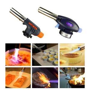 Loetlampe-Butangas-Flammenwerfer-Brennerschweissen-Selbstzuendung-Loeten-Heiss