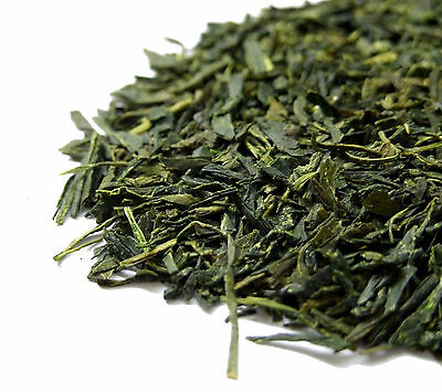 Finest Japanese Sencha Green Loose Leaf Tea - Rich in Vitamin C and Catechin