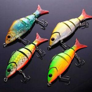 Multi-jointed-Bass-Pike-Fishing-Lure-Crank-Bait-Swimbait-Shad-Minnow-Random-J3F6