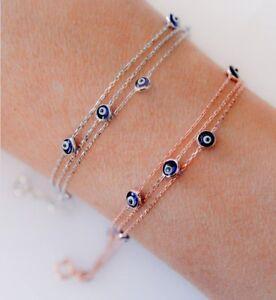 Handmade-Evil-Eye-Bracelet-Sterling-Silver