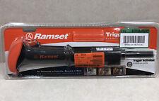 Ramset 40066 Trigger Activated 22 Caliber Powder Actuated Tool Single Shot