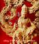 8-034-China-Natural-Boxwood-Hand-Carving-Dragon-Free-Kwan-Yin-Goddess-Buddha-Statue thumbnail 3
