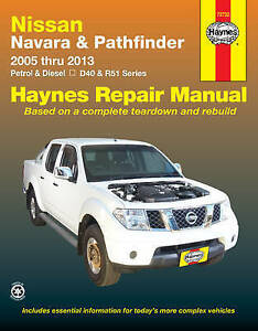 nissan navara pathfinder automotive repair manual by haynes manuals rh ebay co uk Haynes Manuals for 2003 Jeep Haynes Manuals for 2003 Jeep