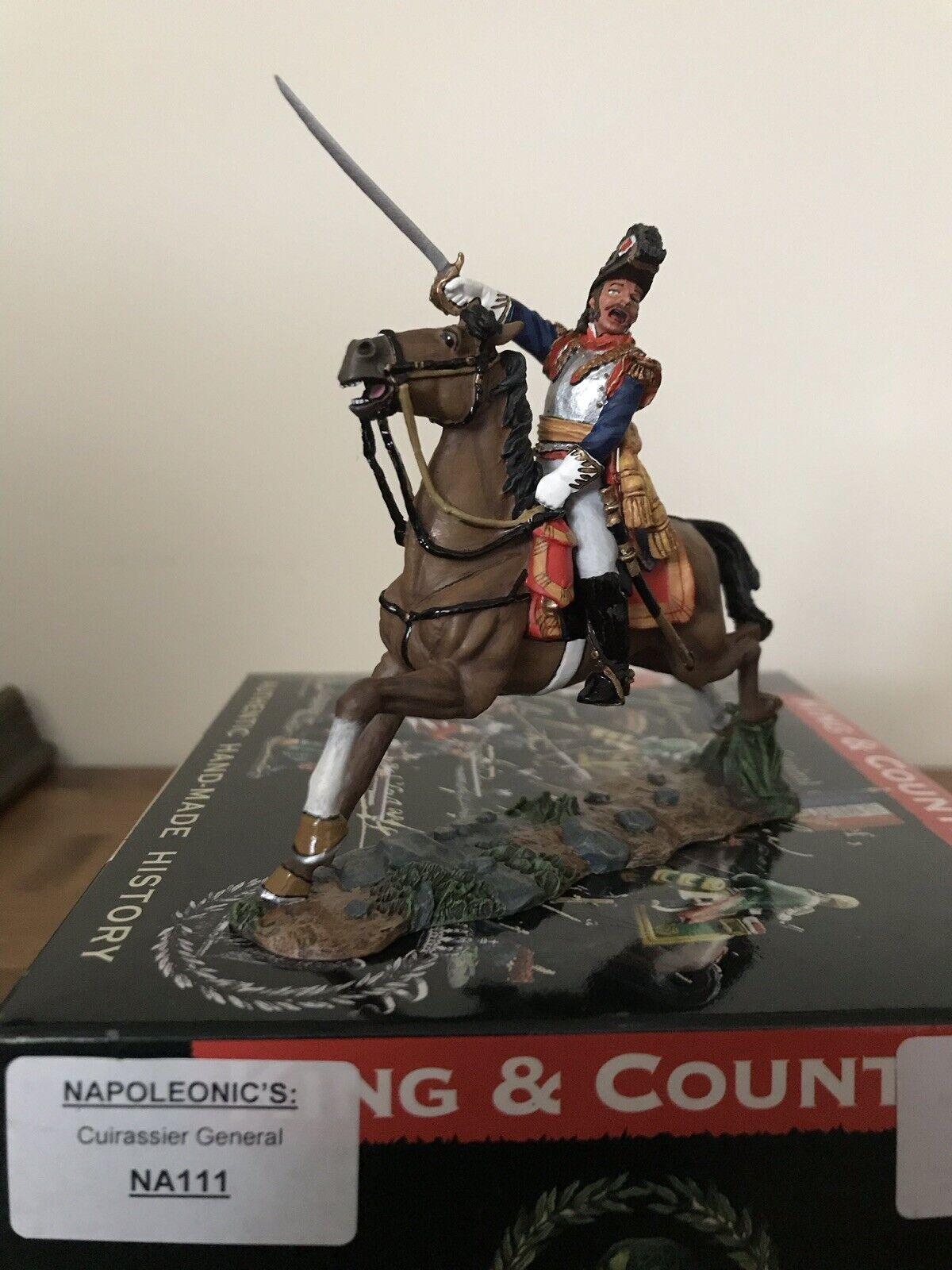 Rare NA111 French Napoleonic Cuirassier General Mint In Box Box Waterloo