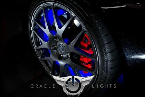WHITE LED Wheel Lights Rim Lights Rings by ORACLE for FORD F150 F250 Set of 4