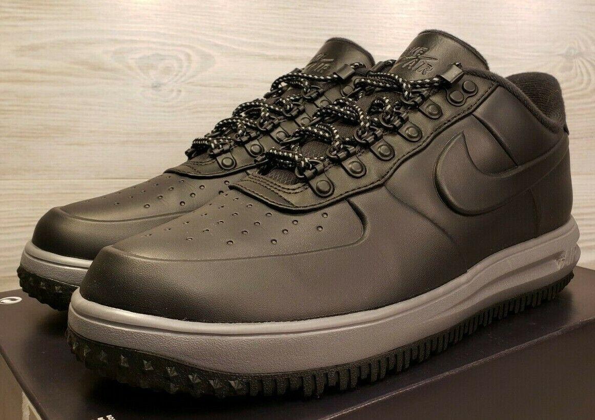 size 40 a666a d9a06 Nike LF1 Duckboot Low Lunar Force 1 Grey Black Fashion Fashion Fashion  Sneakers AA1125-004