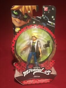Miraculous ADRIEN NEW MINT ON CARD Postage discount BANDAI
