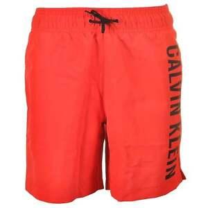 062d5d0bdd033 Calvin Klein Boys CK Intense Power Swim Shorts, Red. Beach, Pool ...