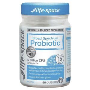 Life-Space Broad Spectrum Probiotic Tablets 40 pack