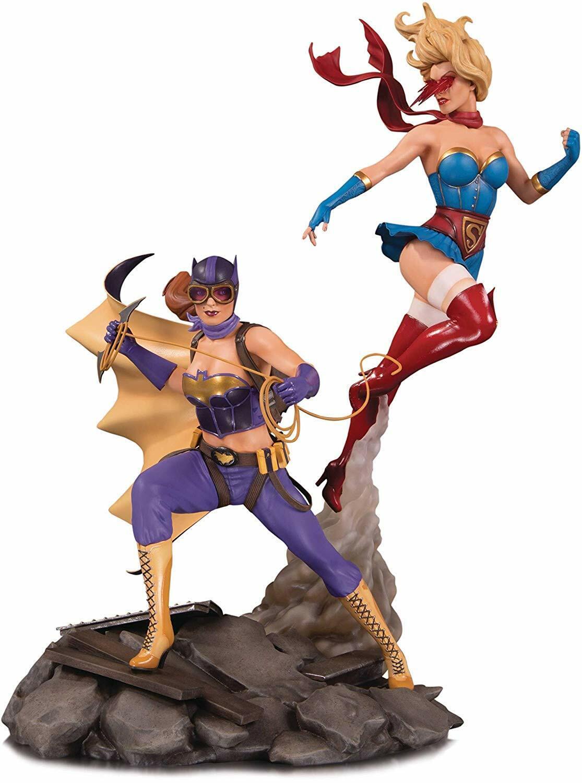 DC Bombshell Batgirl & Supergirl celebration statue  [1-464