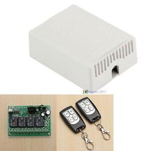 DC12V-4CH-Channel-Wifi-Remote-Control-Radio-Relay-Switch-Transceiver-Receiver-W