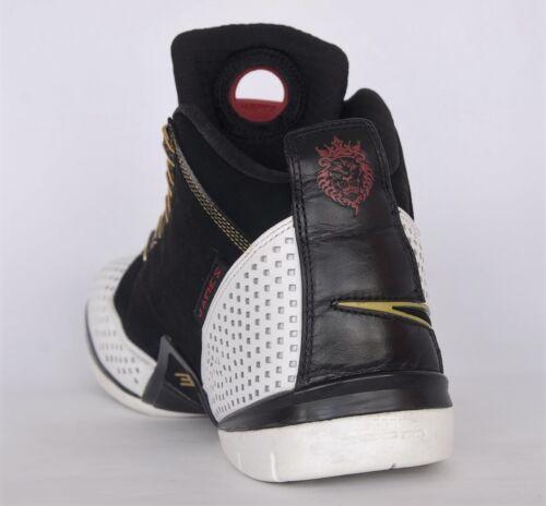 Blanco 101 James Nike Ii Sz 2 Negro Zoom Lebron Soldier 2008 318694 9 Xvwg8X