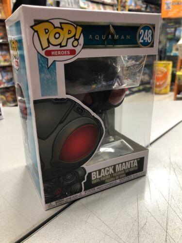 248 Funko Pop Aquaman Black Manta NUOVO SIGILLATO