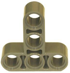 Missing lego brique 55615 MdStone x 2 Technic Beam 3 x 3 Bent avec pins