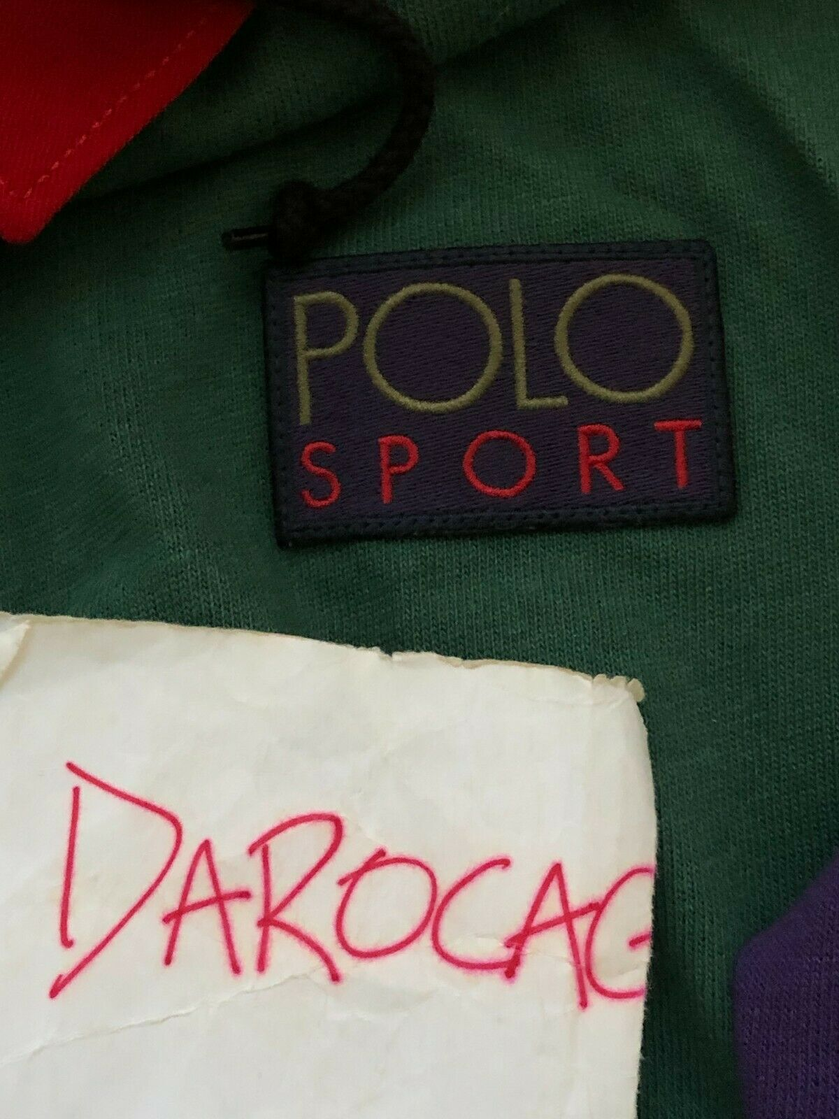 Polo Ralph Lauren Snow Beach Cold Wave Rugby XL - image 5