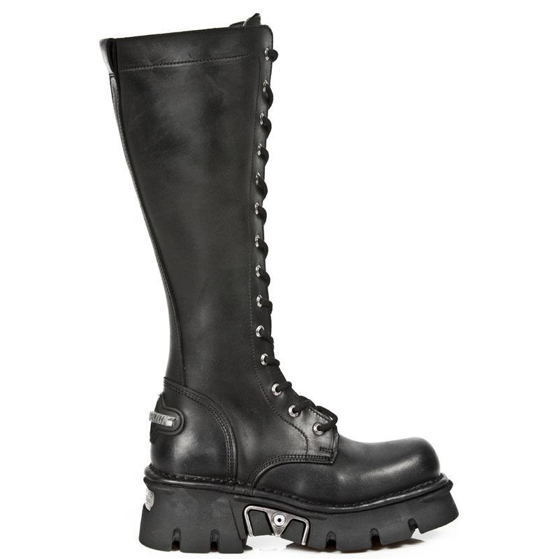 New Rock Stiefel Boots gothic schwarz M.235-S1
