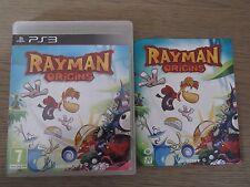 PLAYSTATION 3 PS3  RAYMAN ORIGINS  COMPLET EN FRANCAIS