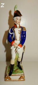 Capodimonte-Naples-Napoleonic-Soldier-Figurine-Marked-1842-Z