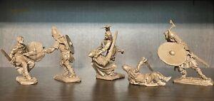 Prikaz jouet soldats Vikings vs Slaves Chevaliers 1:32 plastique souple
