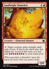 SOULBRIGHT FLAMEKIN Modern Masters 2015 MTG Creature — Elemental Shaman Com