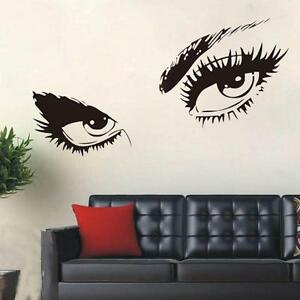 stylish eye wall sticker vinyl art home black decor large stylish 3d wall sticker tree lined trail poster bedroom