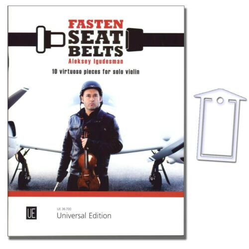 Aleksey Igudesman 9783702473877 NotenKlammer Fasten Seatbelts für Violine