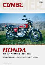 Clymer Repair Service Shop Manual Vintage Honda CB250/350 G CB350 CJ360 CL360