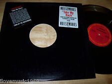 "RARE 1987 Noiseworks PROMO 12"" Take Me Back NEAR MINT NOT FOR SALE FREE US SHIP"